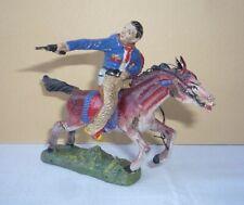 Wildwest - Figur aus Masse : Cowboy zu Pferd von PLASTINOL (1)