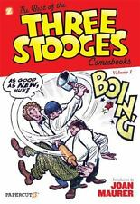 The Best of the Three Stooges Comic Books Volume 1 by Norman Maurer (Hardcover)