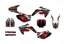 CRF 150R graphics decal kit for Honda 2007 - 2015 dirt bike #4444 Red