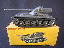 DV4495 DINKY TOYS FR CHAR AMX 13 TONNES TOCS EN CREUX Ref 80C a 1958 BON ETAT