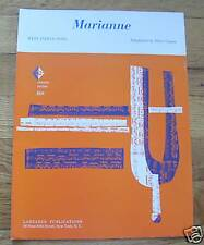 Marianne West Indian Song Sheet Music  1963