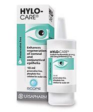 Hylo cuidado colirio, sin conservantes, seguro para el uso con todas las lentes de contacto