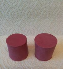 Solid Rubber Bung To Fit 1 Gallon Glass Demijohn X 2