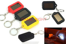 NEW 3 LED Solar Power rechargeble Flashlight Keychain