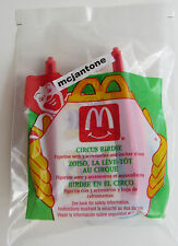 MIP McDonald's 1994 Circus BIRDIE Early BIRD Big Top Ladder Fall Toy CAKE TOPPER