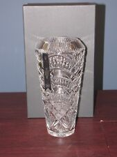 LARGE WEXFORD INTRICATE CUT LIMITED EDITION WATERFORD VASE 77/400 made IRELAND