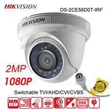 Hikvision DS-2CE56D0T-IRF 2MP 1080P Turbo Camera TVI AHD CVI CVBS IR IP66 2.8mm