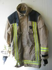 More details for british firefighter jacket goretex lined heavyweight bristol fire service tunic