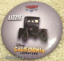 Disney Button Cars Land Lizzie California Adventure