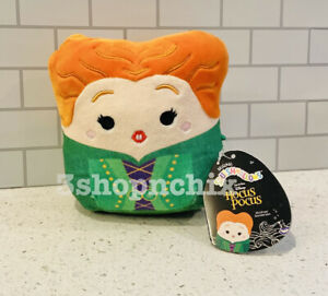 """Squishmallow HOCUS POCUS Winifred Sanderson Sisters Green NWT 5"""" Disney 2021"""