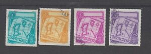 Guernsey Herm stamps superb fine used set of 4 Charts/Maps