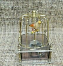 VINTAGE AUTOMATON BIRDCAGE MUSIC BOX LAURA'S THEME HONG KONG