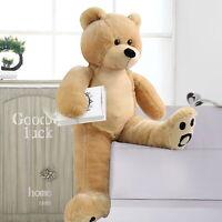3Ft Giant Teddy Bear Stuffed Animal Toys Christmas Valentine Birthday Gift Brown