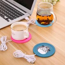 USB Warmer Gadget Cartoon Silicone thin Cup-Pad Coffee Tea Drink Heater Tray