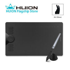 HUION HS610 Graphics Drawing Tablet Touch Ring Android Support 8192 Battery Free