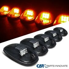 5PCs LED Smoked Roof Top Cab Truck SUV Vans Light Marker Lamps