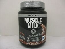 MUSCLE MILK PROTEIN POWDER PRO SERIES KNOCKOUT CHOCOLATE 32oz EXP 4/21 CB 5470