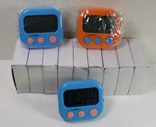 (12) Digital Countdown Kitchen Timer LCD Magnetic Alarm Cooking 1 Dozen