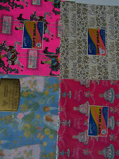 """Vintage Birthday/Wedding Gift Wrap 4 Packs 2 Sheets Per Pack Nos 8-20""""x30"""""""