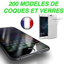 +200 Modèle Vitre de protection film EN VERRE TREMPE / Housse Coque SILICONE TPU