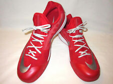 Nike Zoom US 18 Red White Silver Low Tops Athletic Shoes #685779-603 No Box NEW