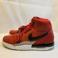 New Nike Air Jordan Legacy 312 Varsity Red Black AT4040-601 GS Big Kid's Size 7Y