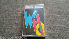 CASSETTE - ROCKSTARS IN CONCERT - THE WHO - SEALED - SPA