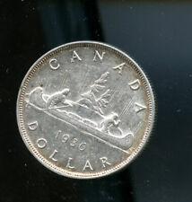 1936 Canada Silver Dollar AU  CP492