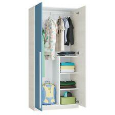 Armario dos puertas, armario ropero para habitación infantil juvenil, Wic