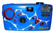 Holga K203 Purple Original Noise Making 35mm Film Camera
