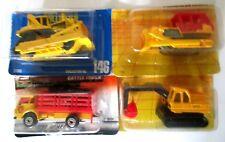 1:64 Matchbox Hot Wheels Construction Bulldozer Excavator Truck Vehicle Car Lot