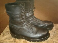 Bates Steel Toe  Dura Shock Sole Black Boots Size 10.5  Work, Motorcycle, Combat