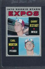 1970 Topps #109 Expos Rookie Stars Jestadt/Morton NM *8194