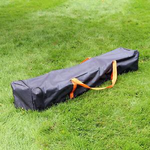 Sunnydaze Standard Polyester 10x10 Pop-Up Canopy Carrying Bag - Black