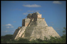 525008 Mayan Pyramid Uxmal Yucatan Mexico A4 Photo Print
