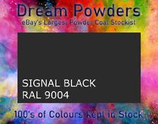 RAL 9004 Signal Black Powder Coat Refurbishment Powder Coating Alloy Wheel