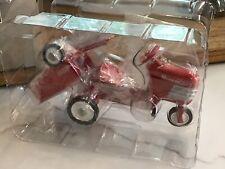 New Hallmark Mini Kiddie Car Classics 1955 Murray Tractor & Trailer Red Qhg2205