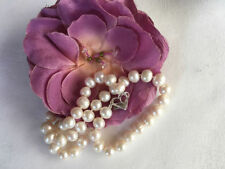 "Choker 18 - 19.99"" Cultured Fine Pearl Necklaces & Pendants"