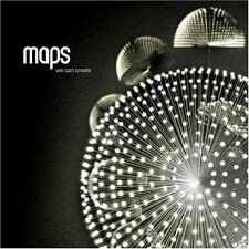 Maps : We Can Create CD (2007)  *EX COND*  BARGAIN!!  FREE!!  UK 24-HR POST!!