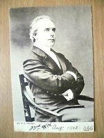 1903 Used Postcard- Actors MR. E S WILLARD, No. 686 + Stamp