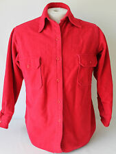 Vintage Woolrich Men's Cotton Soft Chamois Shirt Sz 16 Made in USA!