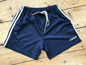 Adidas Shorts Lads Sprinter Trunks Shiny Silky Vintage Racer 80s Size Small