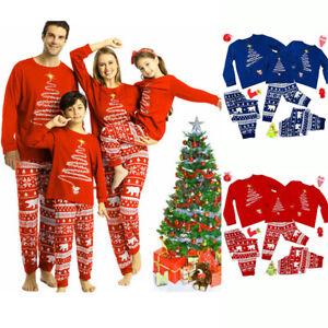 Matching Family Christmas Pyjamas Baby Infant Kids Mens Womens Xmas Pyjama Set