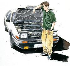 Aoshima 03206 1/24 Model Car Kit Initial D Toyota Sprinter Trueno AE86 Early Ver