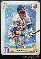 Christian Yelich 2020 Topps Gypsy Queen Tarot Of The Diamond Insert #10 Brewers