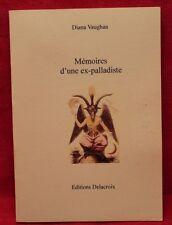 Mémoires d'une ex-palladiste - Diane Vaughan - Livre grand format - Occasion