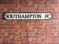 Vintage Wood London Street Road Sign SOUTHAMPTON FC