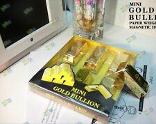 6 BIron absorption brick Ingot Gold Bar Replica Props decoration Movie Memorabi