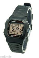 Casio W800HG-9A Men's Resin Band 100M Snooze Alarm Chronograph Digital Watch