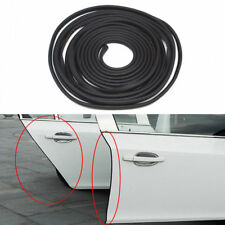 Black Car Door Trim Edge Body Strip  Mold Scratch Guard Protector 157.5in/13ft